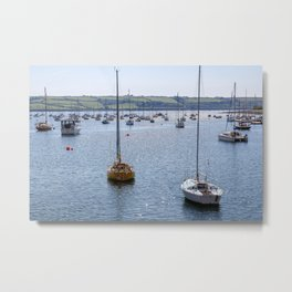 Mylor Yachts from Greatwood Quay Metal Print