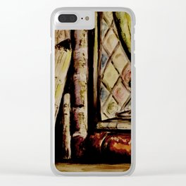 Bookshelf Clear iPhone Case