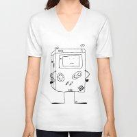 wiz khalifa V-neck T-shirts featuring Play wiz Me by ingicoPhotoDesign