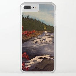 Chutes Clear iPhone Case