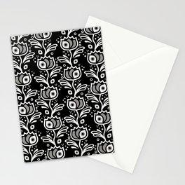 One-Eyed Tulips – Black & White Stationery Cards