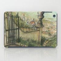 italian iPad Cases featuring Italian Garden by Emily Dwan