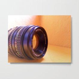 Camera Lense Metal Print