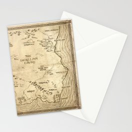 Map of Imirillia Stationery Cards