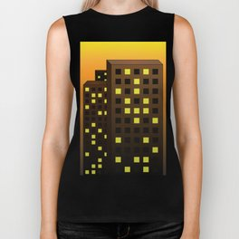 Urban Buildings Biker Tank