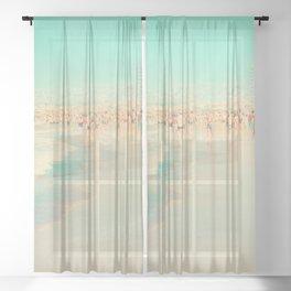 beach XIX Sheer Curtain