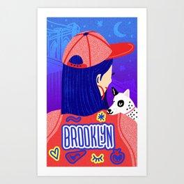 Brooklyn Girl Art Print
