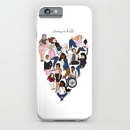 Strong as Hell iPhone Case
