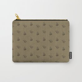 Brown Ships Carry-All Pouch