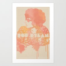 Bob Dylan Illustration Art Print