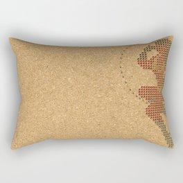 Push Pin Up Rectangular Pillow