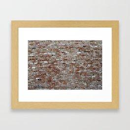 Stone Wall pattern Framed Art Print