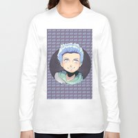 ed sheeran Long Sleeve T-shirts featuring ED by EY Cartoons