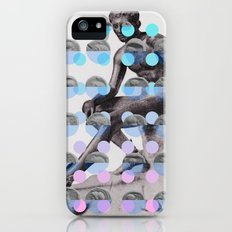 Statue With A Dot Gradient 2 iPhone (5, 5s) Slim Case