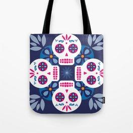 Talavera Blue Tote Bag