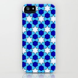 Stars And Hexes iPhone Case