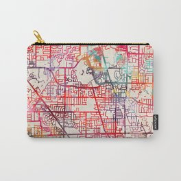 Glenview map Illinois IL Carry-All Pouch
