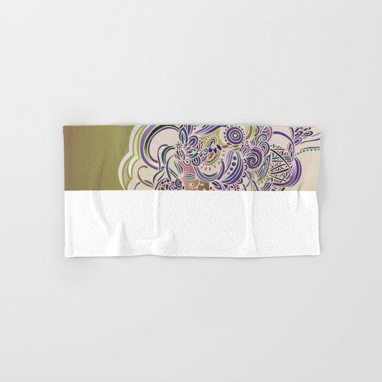 Detailed diagonal tangle Hand & Bath Towel