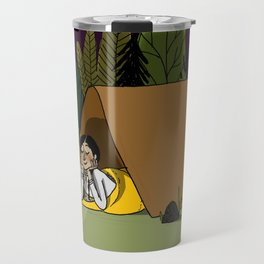 Camping Girl Travel Mug