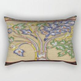 The Blue Beryl Tree of Diagnosis Rectangular Pillow