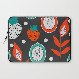 Strawberries and citrus fruits at night Laptop Sleeve
