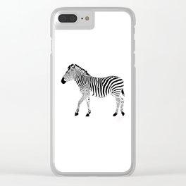 Zebra SW 1A Clear iPhone Case