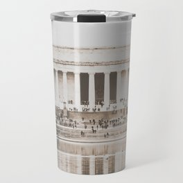 Lincoln Memorial Washington D.C. Travel Mug