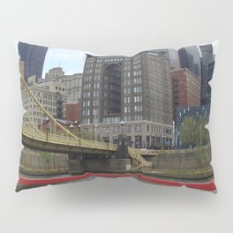 My Heart is In Pittsburgh Pillow Sham