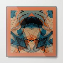 Howard Johnson's on Acid Metal Print