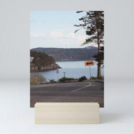 Anacortes Island Roads Mini Art Print
