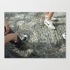 Sneakerville Canvas Print