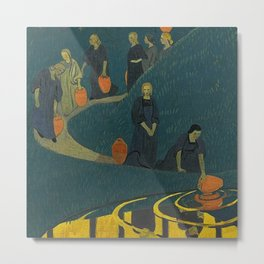 The Danaides or Women at the Source of Life and Water by Paul Serusier Metal Print