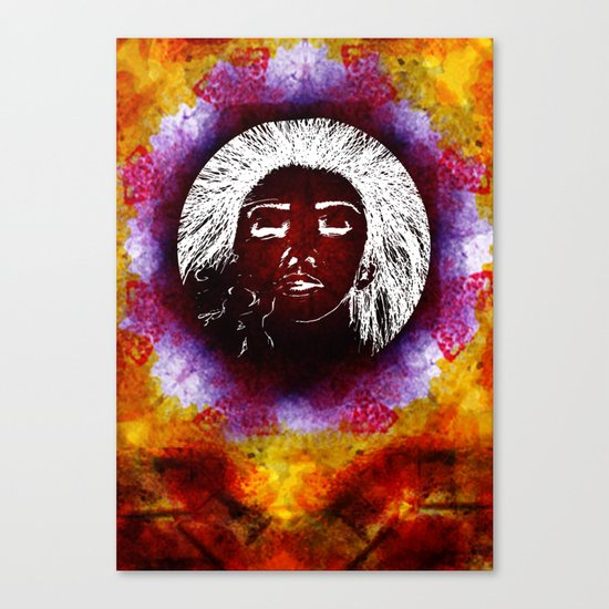 Breathe Kaleidoscope  Canvas Print