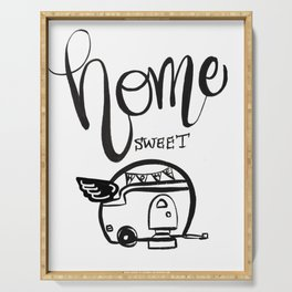 HOME SWEET HOME RV CAMPER Serving Tray