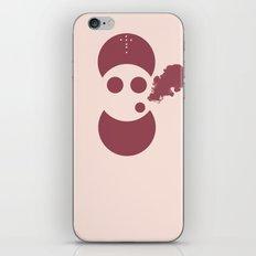Circles&smoke iPhone & iPod Skin