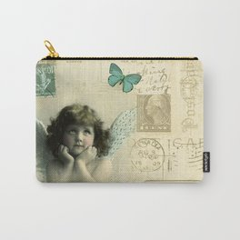 Butterfly Angel Carry-All Pouch