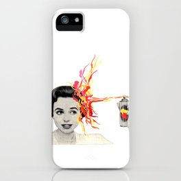 My head's not in the game iPhone Case