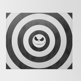 Jack Skellington Nightmare Before Christmas Throw Blanket
