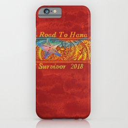 Road To Hana,Maui iPhone Case