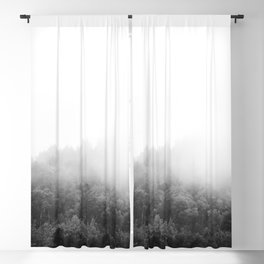Algonquin Park   Minimalist Landscape Photography   B&W Blackout Curtain