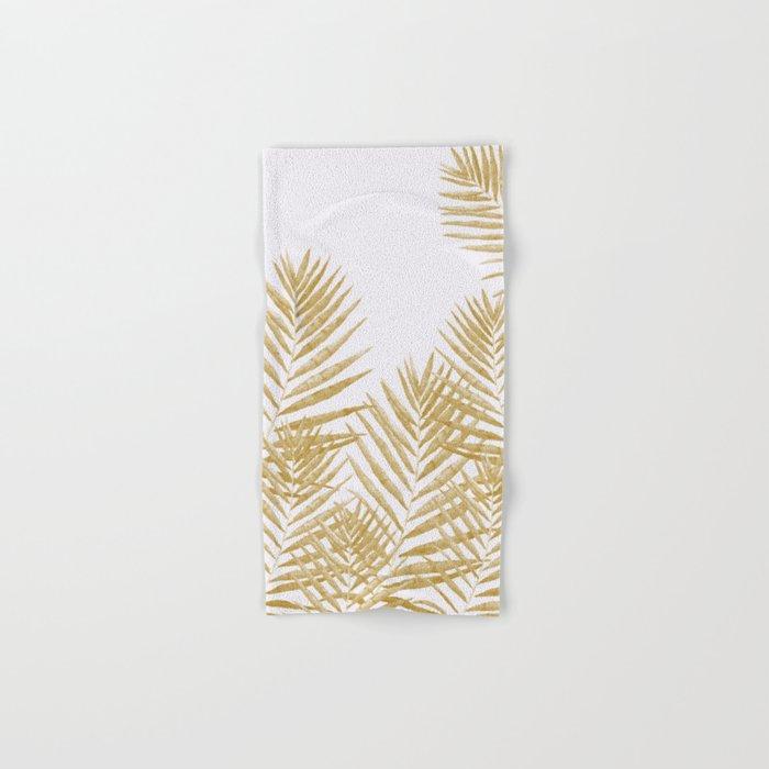 Fern Golden Hand & Bath Towel