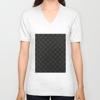 lv V-neck T-shirts featuring LV - LV pattern by Inara