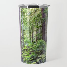 The Light Through the Woods Travel Mug