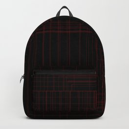 Red Square Backpack