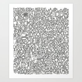 Find the Aquarium Art Print
