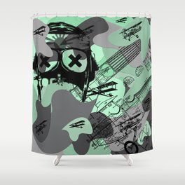 CamO Cloud JumPers Shower Curtain