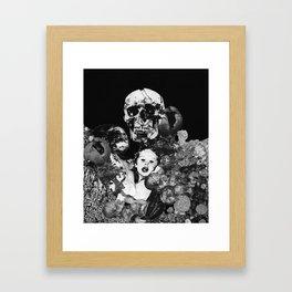 """Nystagmus Catatonia"" (2018) Framed Art Print"