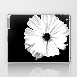Springtime Aneomone In Black And White Laptop & iPad Skin