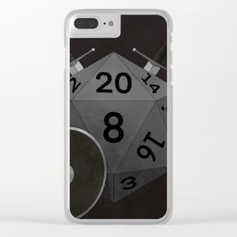 Fighter d20 Clear iPhone Case