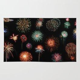 Fireworks Extravaganza Rug